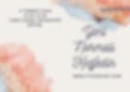 Pink and Blue Script Brushstroke Waterco