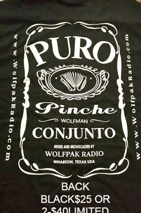 W.P.R PURO PINCHE CONJUNTO BLACK T-SHIRT