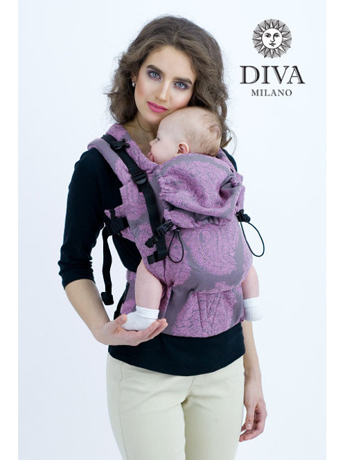 Diva Milano - Wrap Conversion Buckle Carrier: Basico Perla