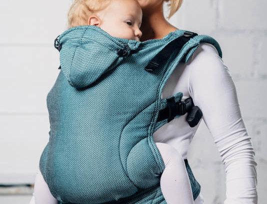 Lenny Lamb Basics carrier - Amazonite, toddler size