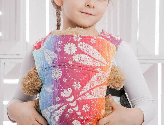 Lenny Lamb Dragonfly Rainbow Doll Carrier