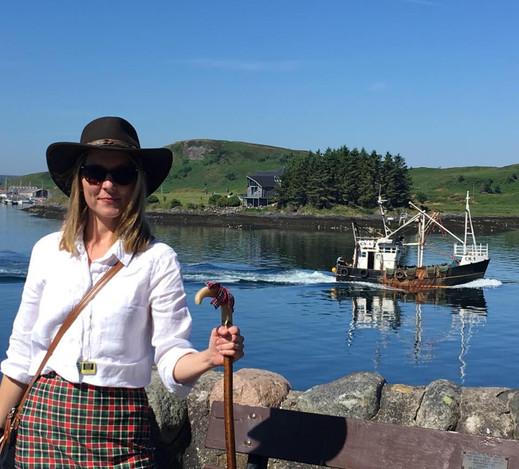 STGA tourist guide Michelle