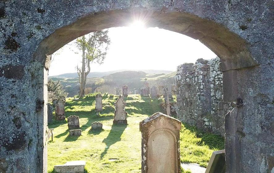 Historic Kilbride, MacDougall Burial Ais