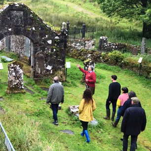 Liam gives a tour of Kilbride
