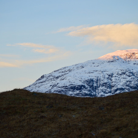 Glencoe: land of fire and ice