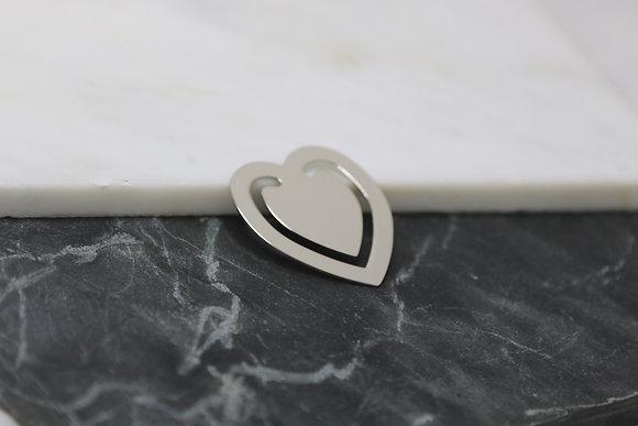Marque page coeur (petit)