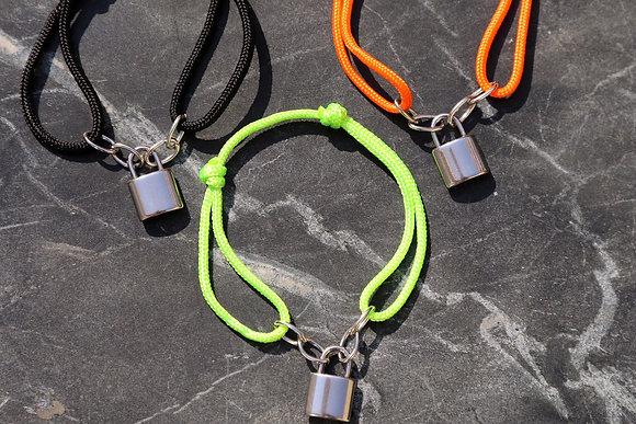 Bracelet cadenas cordon