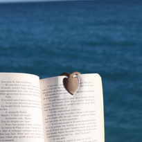 Marque page coeur