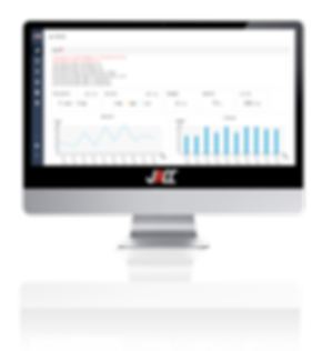 JACC visualizes machine healthiness and maintenance record. Users can quickly reactto machine failures andreduce downtime.