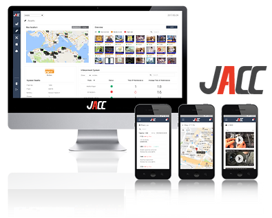 "JACC, pronounced as ""Jack"", is a cloud-based AI system for maintenance that streamlines, automates, and optimizes maintenance operations by leveraging AI, Big Data, IoT, and Machine Learning technology."