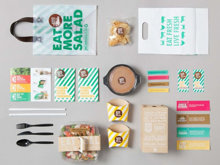 Salad Brand Identity Package