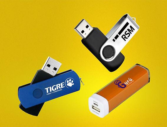 USB, powerbank publicitario