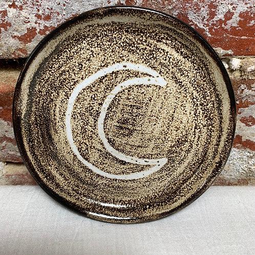 Crescent Moon with Birch Glaze