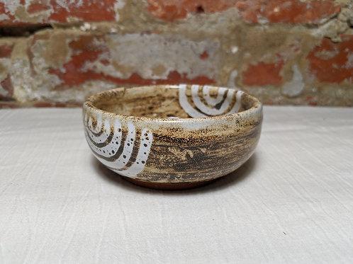 Fingerprint with Birch Glaze