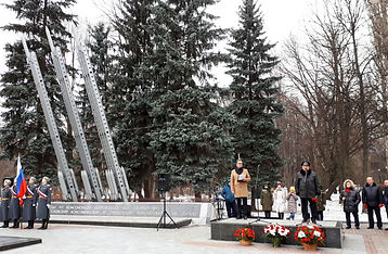 Площадь Мужества 4 декабря 2019 г.