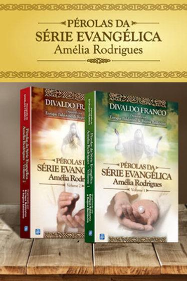 Kit. Pérolas da Série Evangélica Amélia Rodrigues - Volumes 1 e 2
