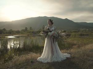 Romantic Idaho Mountain Wedding