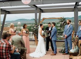Downtown Boise Rooftop Wedding