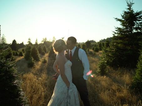 Portland Oregon Forest Wedding