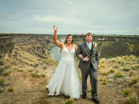 Idaho Waterfall Elopement