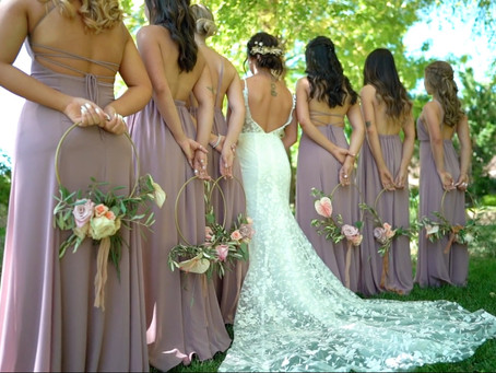 Idaho Botanical Garden Wedding