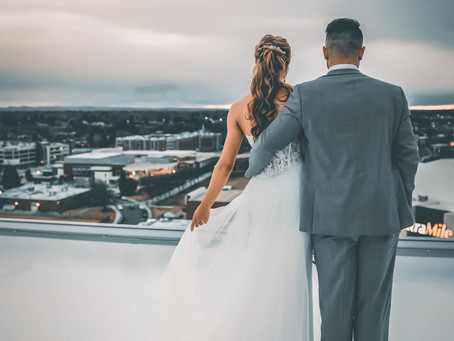 Stueckle Sky Center Wedding at Boise State