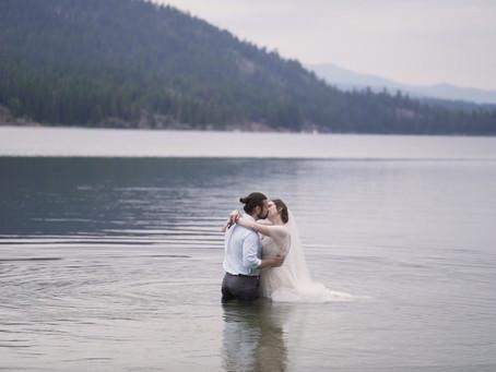 McCall Idaho Wedding at Bear Creek Cabin