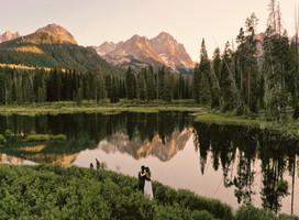 Sawtooth Wilderness Hiking Elopement