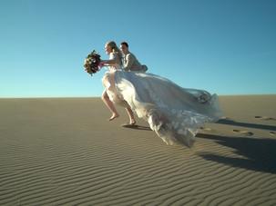 Bruneau Sand Dunes Elopement