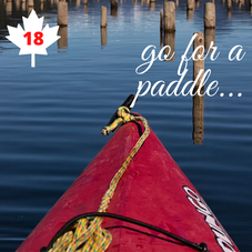 #18. Go for a Paddle