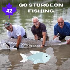 #42. Go Sturgeon Fishing