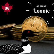 #36. Go spend a Loonie!
