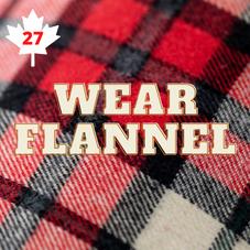 #27. Wear Flannel