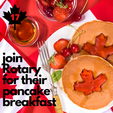 #17. Join the Rotary for Pancake Breakfast