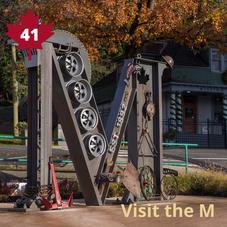 #41. Visit the M