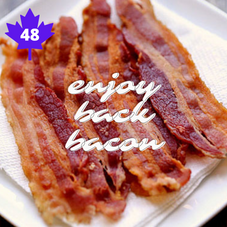 #48. Eat some Canadian Back Bacon
