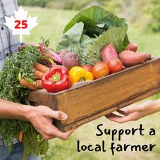 #25. Support a local Farmer