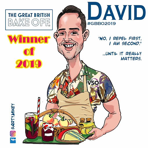 David from The Great British Bake Off 20