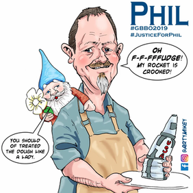 Phil from The Great British Bake Off 201