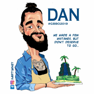 Dan from The Great British Bake Off 2019