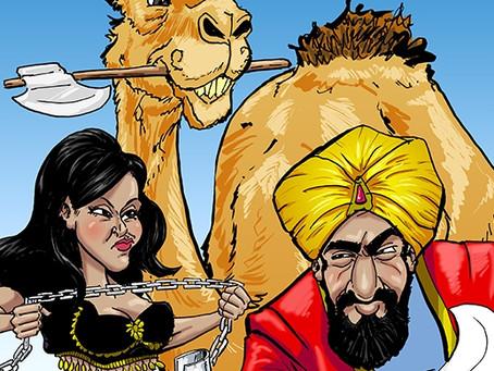 Arabian Nights Murder Mystery