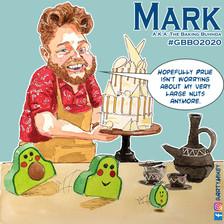 Mark The Great British Bake Off 2020 ArtyMikey