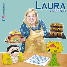 Laura The Great British Bake Off 2020 ArtyMikey