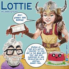 Lottie The Great British Bake Off 2020 ArtyMikey