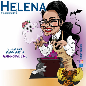 Helena from The Great British Bake Off 2019