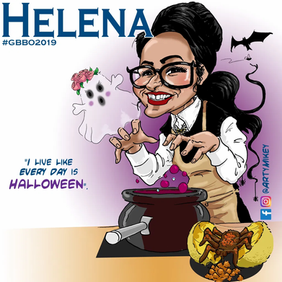 Helena from The Great British Bake Off 2