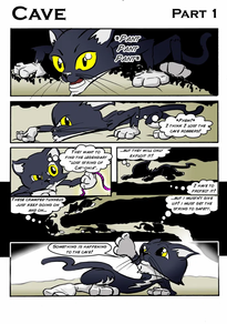 Stan & Tim's Imaginative Adventures - The Cave page 1 - ArtyMikey