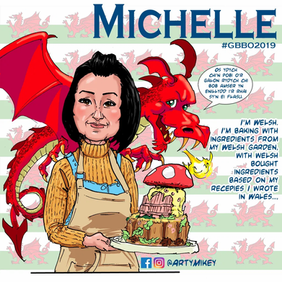 Michelle from The Great British Bake Off