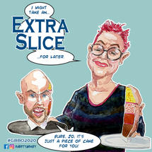 Jo Brand and Tom Allen The Great British Bake Off 2020