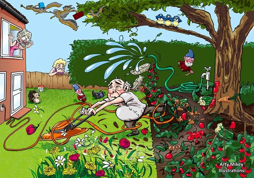 Gardening going wrong